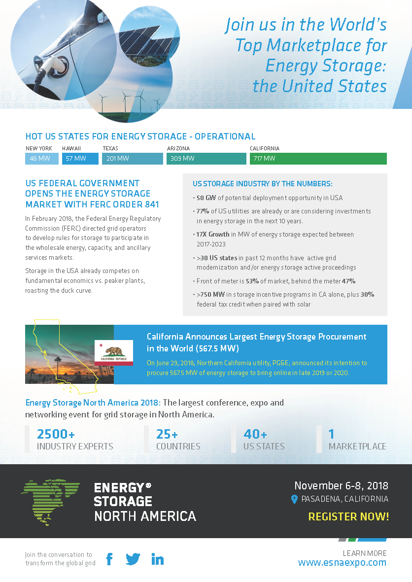 SCPPA | 2018 Energy Storage North America Conference and Exhibition